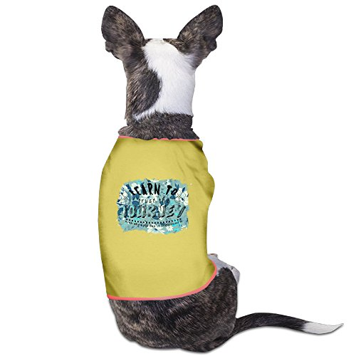 [Customed Pet Custume Learn To Trust The Journey For Dog Cat 100% Polyester] (Katie Holmes Costumes)