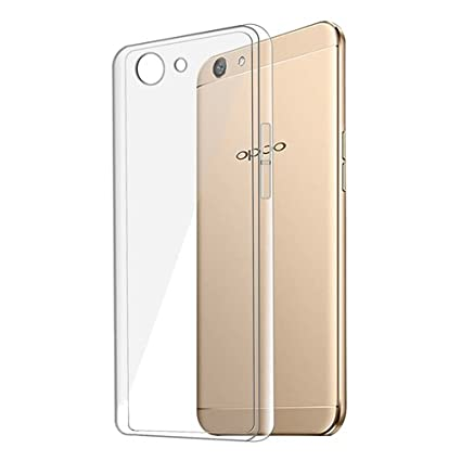 buy online 8cb9f 8a29b Oppo F1s Cover Clear Transparent Flexible Soft TPU Slim Silicon Back cover  for Oppo F1s