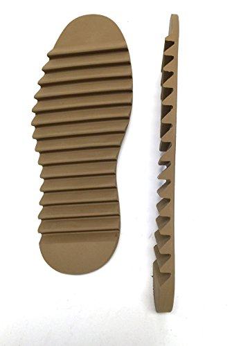 SoleTech Ripple Full Sole Oak Color 1 PAIR Shoe Repair (10)