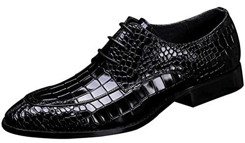 Herren Derby Schuhe Business Kleid Kleid Schuhe Mode Hochzeit Schuhe Black
