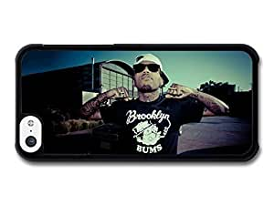 KOKOJIA Accessories Kid Ink Portrait with Sunglasses and Factory case for iPhone 5C