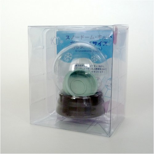 Snow Globe Kit Snow Dome do-it-Yourself kit Glass Powder with Size L (Japan -