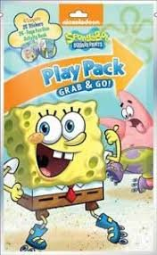 Spongebob Grab N Go Grab and Go Play Pack Party (Spongebob Activity Kit)