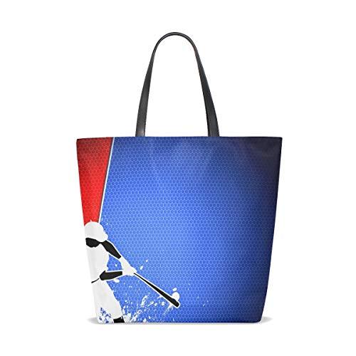 Unique Porter 001 À Taille Sac Femme Tote Pour L'épaule Bennigiry Baseball vYxpqwC