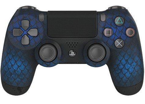 PS4 Wireless Custom Controller – Controller Chaos – Frozen Dragon