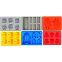 Star Wars Silicone Ice Tray Set Of 6