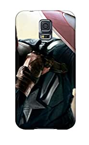 Hot Chris Evans As Captain America 2014 First Grade Tpu Phone Case For Galaxy S5 Case Cover
