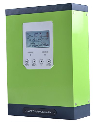 SUNNYSKY MPPT Charge Controller 50A LCD Display 12V 24V 48V Max 150VDC MPPT Solar Charge Controller
