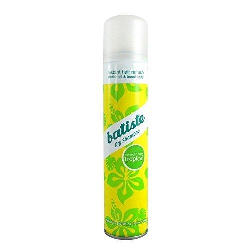 Batiste Dry Shampoo Volumizing Texturizing Refreshing Spray 6.73oz_Tropical