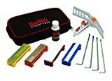 Smith's 50592 Diamond/Arkansas Stones Precision Knife Sharpening System