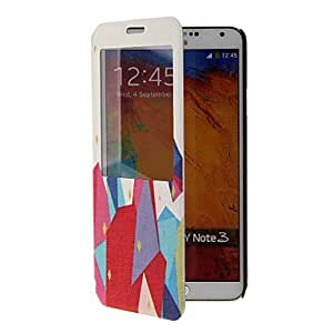 LIMME Special Design Pattern Full Body Case with Window for Samsung Note3