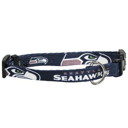OnlineSupplies.PET Seattle Seahawks Dog Collar