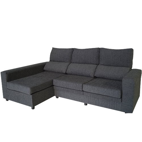 MERCAT DEL MOBLE - Sofa Chaise Longue Grafeno 250X145 Cm ...