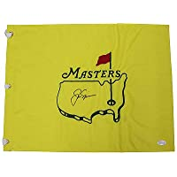$314 » Authentic Autographed Jack Nicklaus Masters Tournament Undated Pin Flag ~ JSA Full Letter