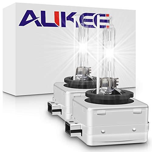 Aukee D1S Xenon HID Headlights Bulb 35W 12V Replacement Bulbs Cool White 6000K - (A Pair)