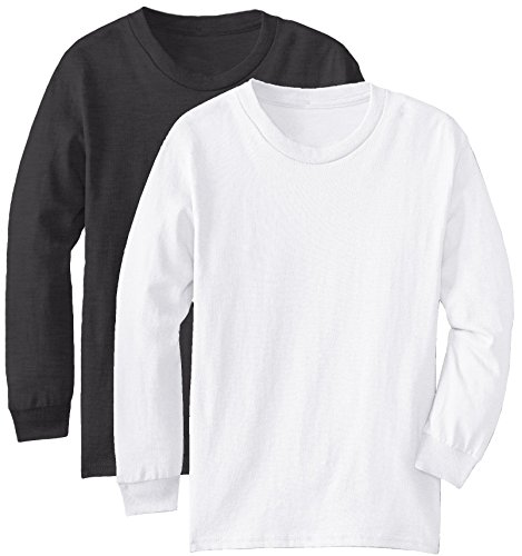 Regular Fit Youth Long Sleeves Cotton TShirt - - Girls Plain Long Sleeve Tshirts