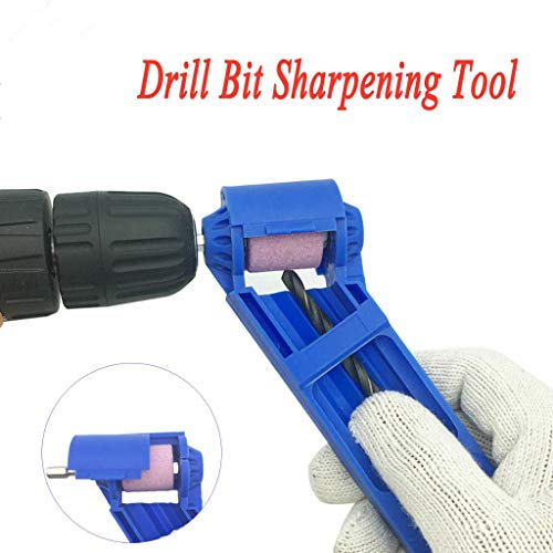 Diamond Hand Drill Bit Sharpening Tool Portable Drill Bit Grinder ron-based Bit for Grinding with Wrench