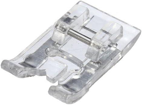 TOOGOO R Pied Presseur reglable point Pied-de-biche Rebattage Snap Presseur Pr Machine A Coudre