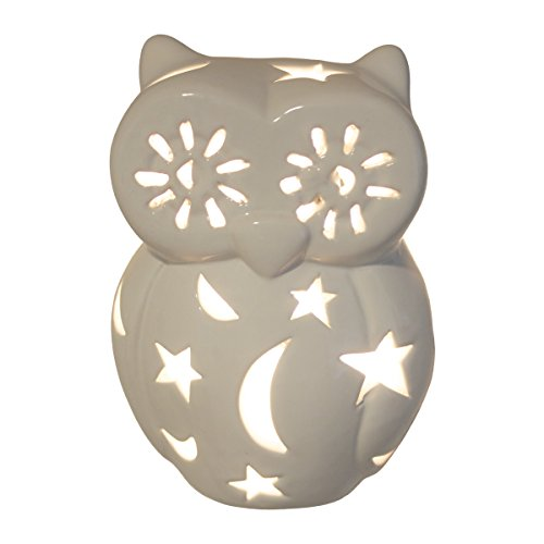 Child's Nursery Lamp/Night Light - Owl (Available in Multiple Animals and Colors)