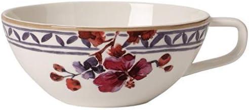 Premium Porzellan 240 ml Villeroy /& Boch Artesano Proven/çal Verdure Teetasse Wei/ß//Bunt