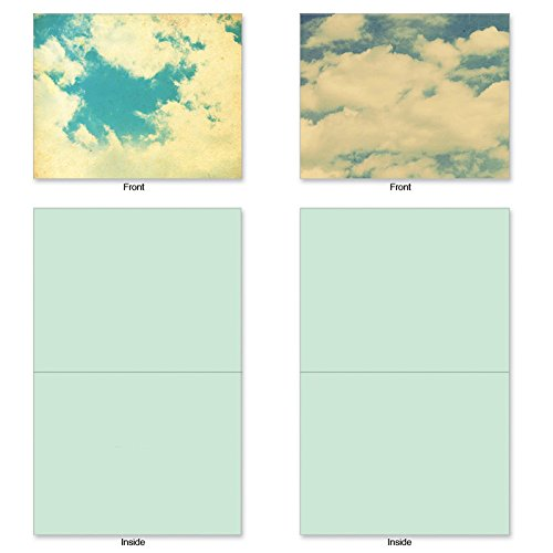 M2036 Assorted Blank Note w/Matching Envelopes.