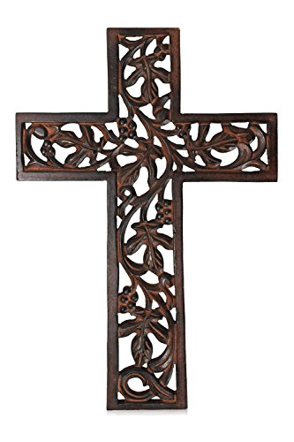 French Cross (Wooden Wall Hanging French Cross 12