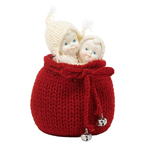 Department 56 Snowbabies Classics Surprise for Santa Figurine, 4 inch