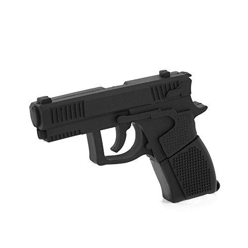 (Funnyusb Cartoon Pistol Gun Shape Flash Drive USB 3.0 16GB High Speed Flash Memory Pen Drive Thumb Stick)