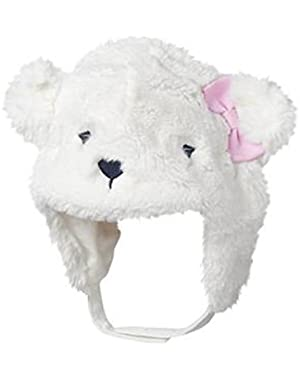 Baby Girl's Snow Polar Hat