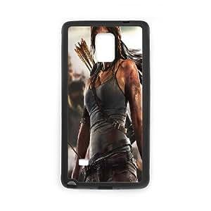 Generic Case Tomb Raider Lara Croft For Samsung Galaxy Note 4 N9100 Q2A7298007