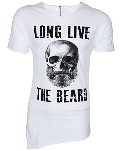 Eksi1 BEARD T-SHIRT SHIRT LONG LIVE THE BEARD
