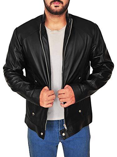 TrendHoop Thriller Limitless Black Leather Jacket (X-Large) -