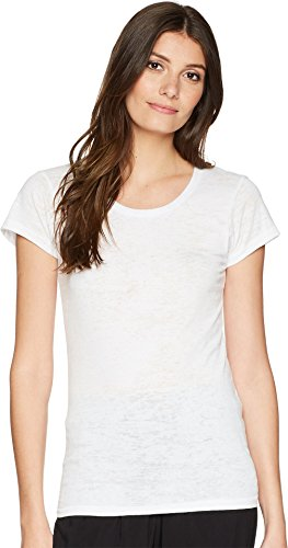 Alternative Women's Burnout Crew White Large
