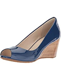 d9ce7c3aab41 Amazon.com  Blue - Pumps   Shoes  Clothing