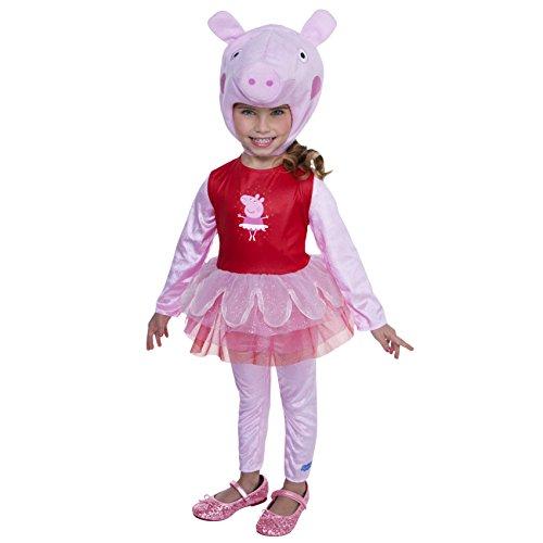 Peppa The Pig Costume (Peppa Pig Ballerina Costume, 3-4T)