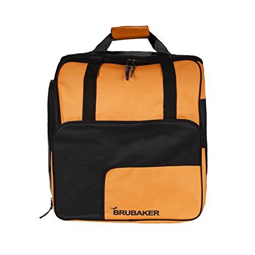 HENRY BRUBAKER Outdoor Sports Boot Bag, Skate Bag, Roller Blades Bag and Backpack Orange Black (Roller Skate Backpack)