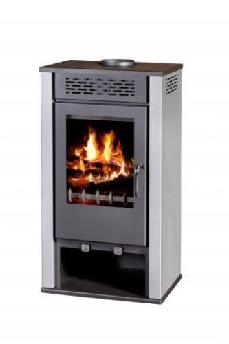 Estufa de leña de chimenea Log quemador Multi combustible Magna 7 kW: Amazon.es: Bricolaje y herramientas