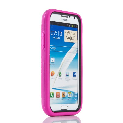 Mansion Heavy Duty Armor Defender Case with stand for Samsung Galaxy Note 2 N7100 / SGH-T889 / SGH-I317