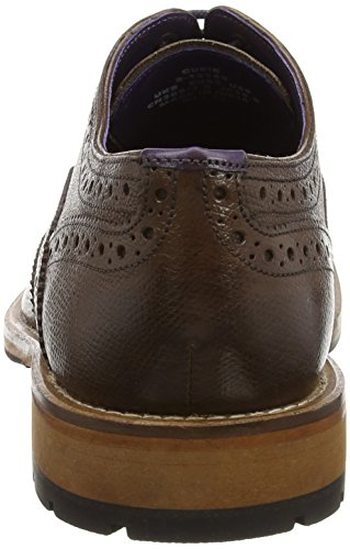 Ted Baker Guri 8, Scarpe Stringate Basse Brogue Uomo Marrone (Brown)