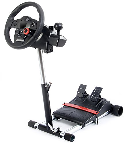 V2 Racing Steering Wheelstand for Logitech Driving Force Pro, GT, EX and DriveFX Wheels (Not compatible with G920, G29, G27, G25); Wheel Stand Pro. Wheel/Pedals Not included.