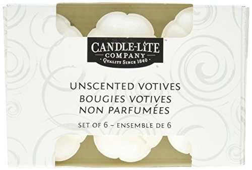 d Votives, 6-Pack (Candle Lite Unscented Candle)