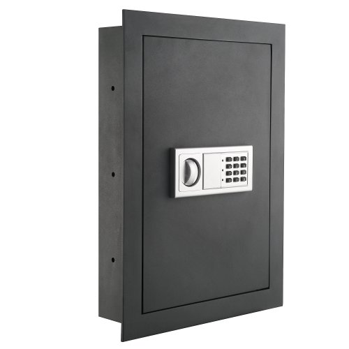 7725 Flat Electronic Wall Safe For Jewelry Security - Paragon Lock & Safe (Best Wall Safe For Home)