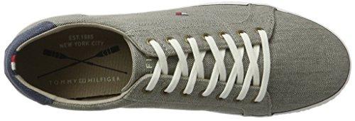 Tommy Hilfiger H2285owell 1d2, Zapatillas para Hombre Gris (Light Grey 007)
