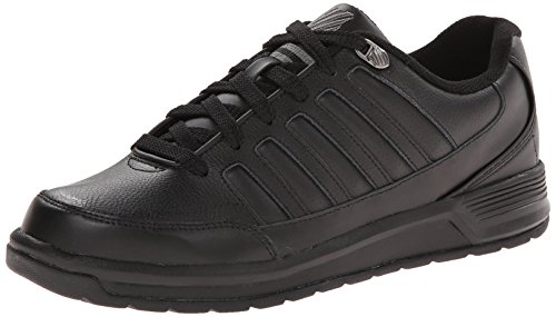 Berlo Men's Charcoal III K Swiss Black wHS7HEq