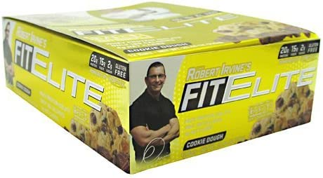Fit Crunch Bars Fit Elite Bar - Protein and Fiber - Cookie ...