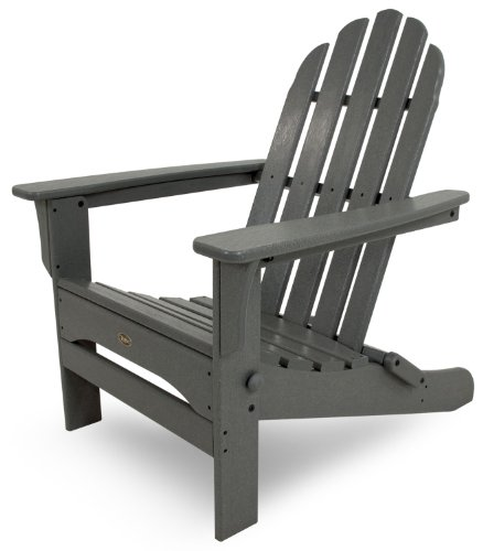 - Trex Outdoor Furniture Cape Cod Folding Adirondack Chair, Stepping Stone