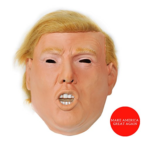 [Donald Trump Celebrity Latex Mask Ideal for Parties Halloween] (Reality Tv Characters Costumes)