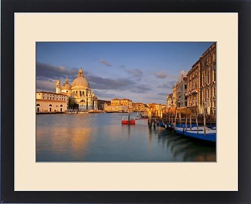 Framed Print of Sunrise over Santa Maria della Salute along the Grand Canal, Venice Veneto Italy by Fine Art Storehouse