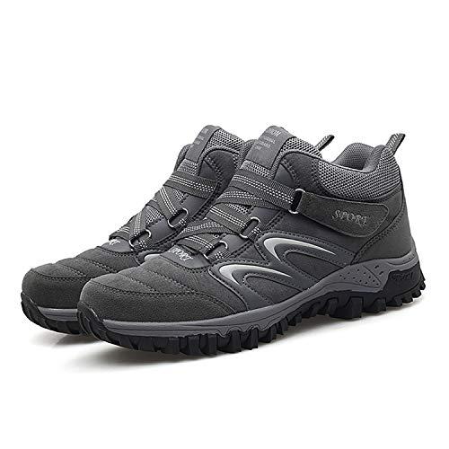 Randonnée Bottes Femme Homme B Tqgold Imperméable Boots Bottines Outdoor Hiver Trekking Chaussures Neige Baskets Fourrure gris De xqzIT1I