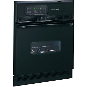 """Frigidaire FEB24S5AB 24"""" Black Electric Single Wall Oven"""
